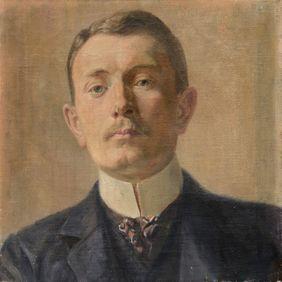 (c)Archiv Stahl - Selbstportrait (Alfred Gerstenbrand)