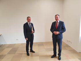 """LH Thomas Stelzer und LAbg. Rudolf Raffelsberger betonen: """"Millionen-Investitionen in den Nah- und Regionalverkehr sind ein klares Signal für Sicherheit und Umweltschutz"""""""