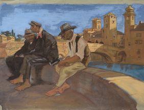 (c)Archiv Stahl - Besuchertour in Kairo - (Alfred Gerstenbrand)