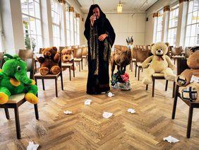 : B.S. Stucka und das Zauberberg- Komitee und ca. 1000 Taschentücher ©Tourismusverband Bad Ischl